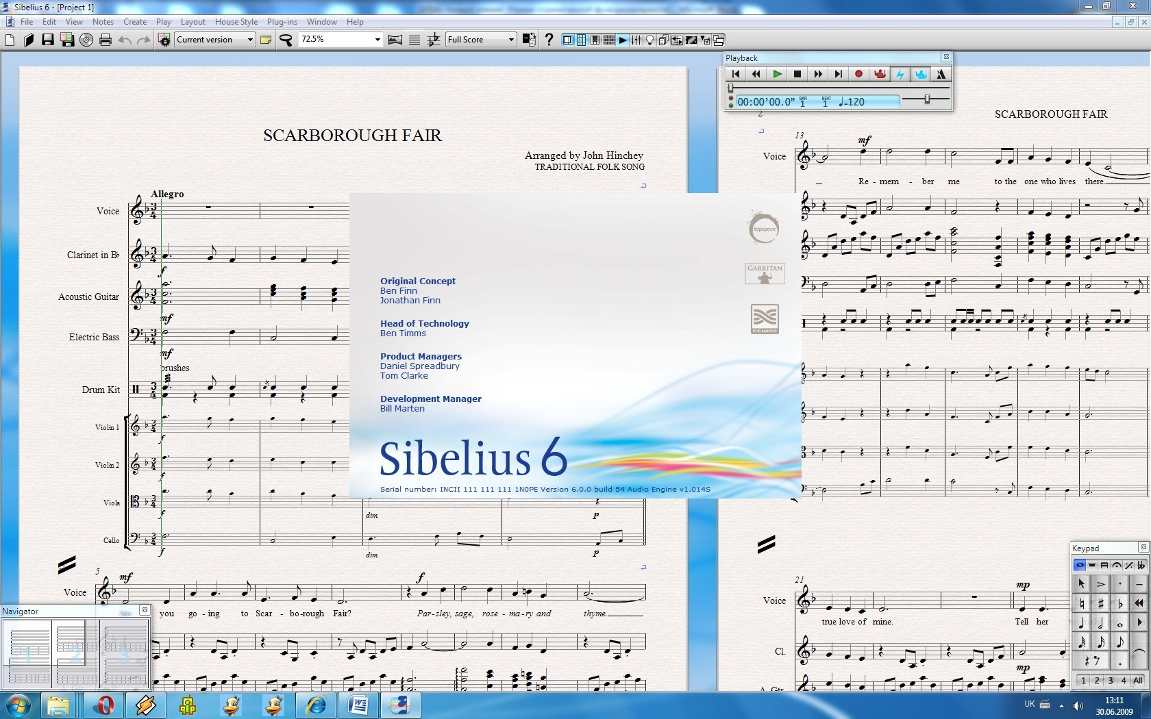how to get sibelius to do drum sfor you