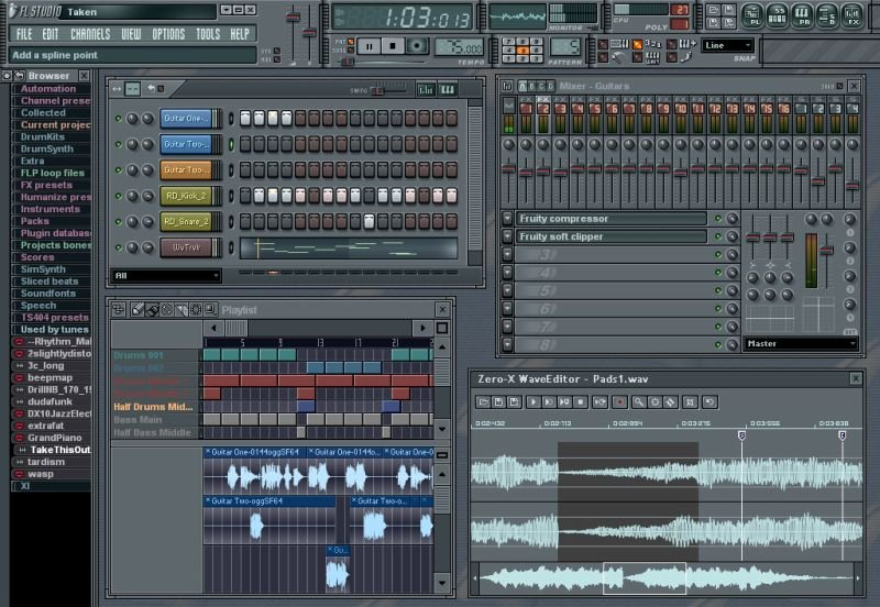 FL Studio (FruityLoops) .