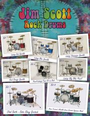 Platinum Samples - Jim Scott Rock Drums vol.1
