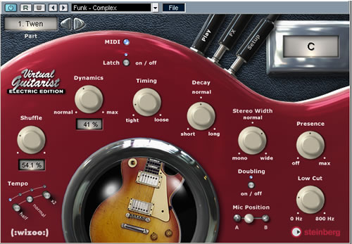 Steinberg Virtual Guitarist EE + Acoustic