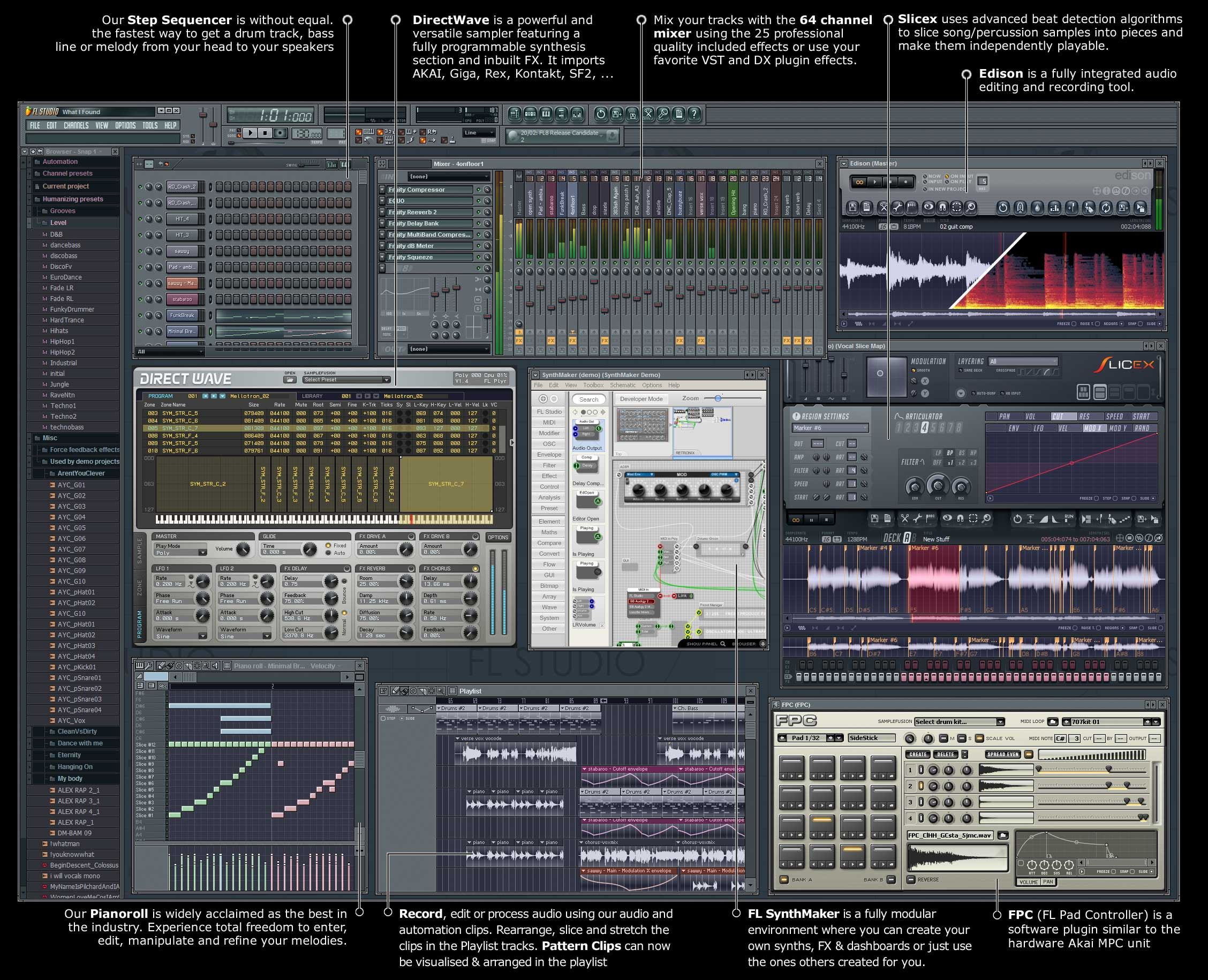 Fruity Loops Studio Producer Edition XXL.
